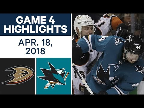 NHL Highlights | Ducks vs. Sha san jose sharks