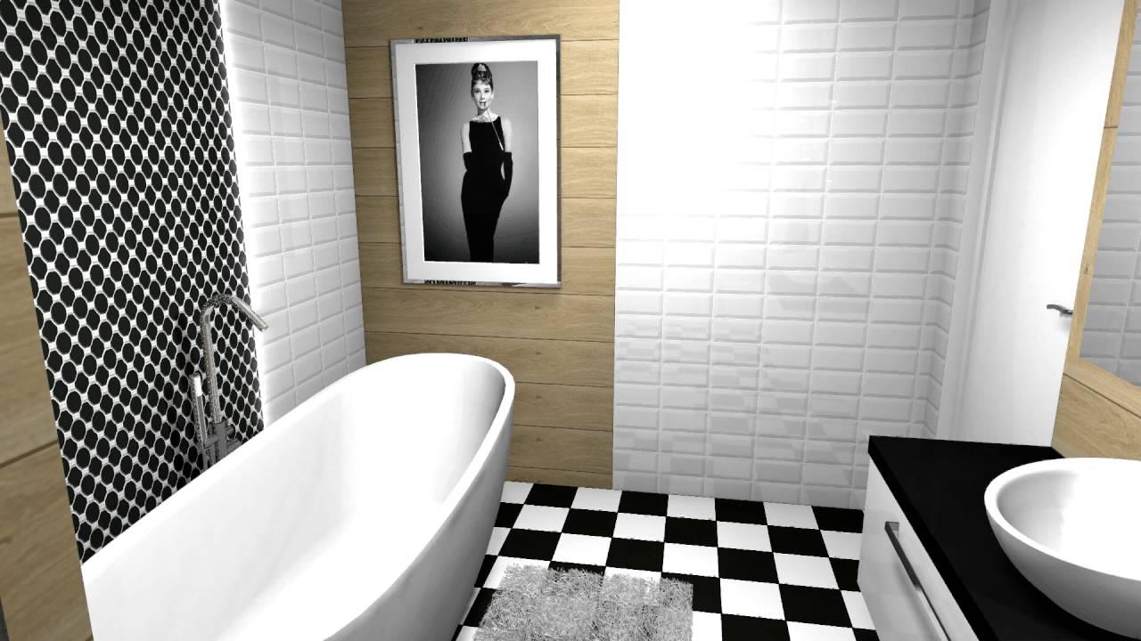 Aranżacja łazienki z płytkami Vives - YouTube