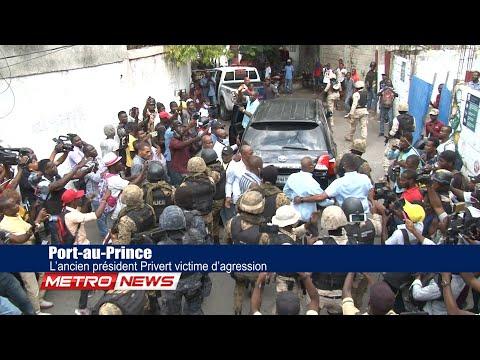 Port-au-Prince : L'ancien président Privert victime d'agression