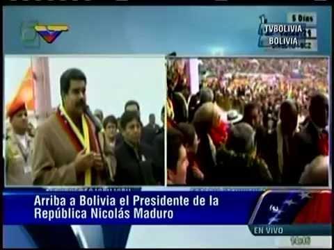 Maduro llega a Bolivia para participar en Cumbre G77+China