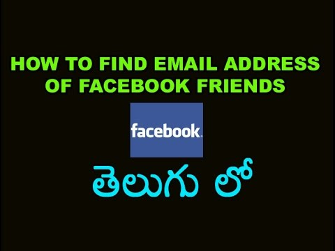 how to open find friends facebook