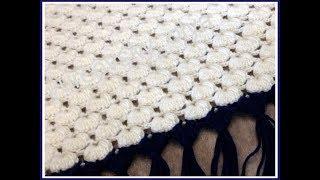 1  Как связать простую красивую шаль