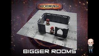 Necromunda Bigger Rooms - Zone Mortalis kit bash / conversion