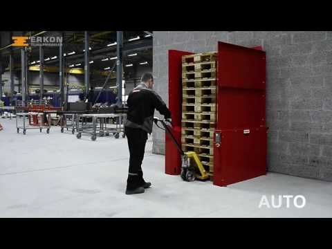 Ferroplan Pallet Master (palletautomaat) - Erkon Tilhulpmiddelen
