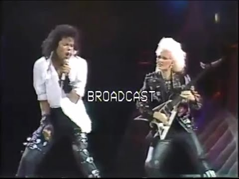 Michael Jackson - Dirty Diana Live In Rome 1988