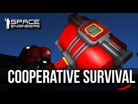 Space Engineers Cooperative Gameplay (3 Player Coop)