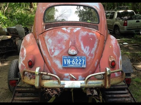 Will it Run ? Sitting for years : 1961 Vw Bug : Working on Volkswagen Beetle : Will it Start ?
