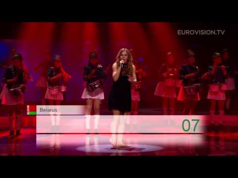 Emmelie de Forest (Denmark 2013) performing at the Junior Eurovision Song Contest 2013