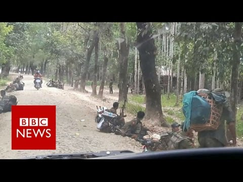 Myanmar: Inside the closed Rakhine region - BBC News