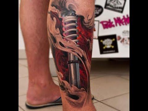 Tatuajes En La Pantorrilla Ideas Para Tu Tatuaje Youtube