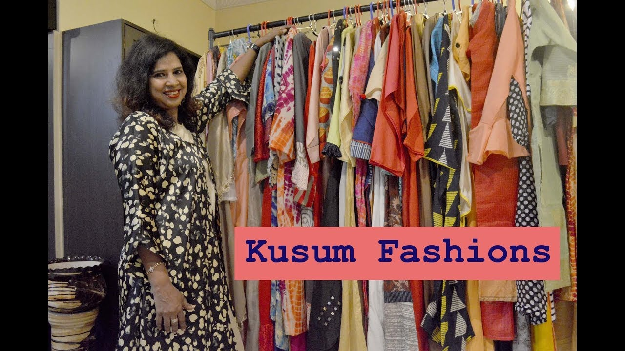 An Exclusive Interview With Kusum Fashions Top 10 Fashion Designers In Kolkata Youtube