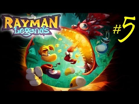 RAYMAN: Legends - 05 - Castle Rock - Español HD 1080p Gameplay Parte 5 Walkthrough