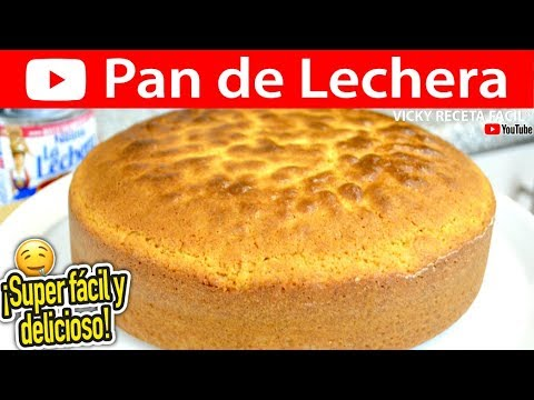 Cómo hacer PAN DE LECHERA | Vicky Receta Facil