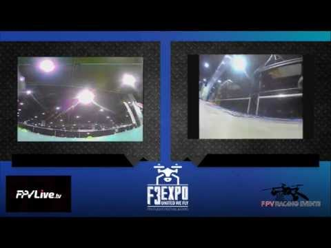 F3Expo FPV Racing Competition Inside the GWCC