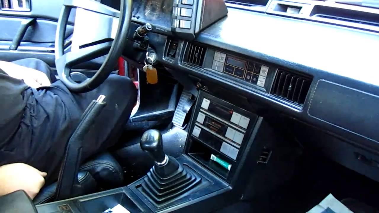 under the hood 1986 plymouth conquest tsi interior look