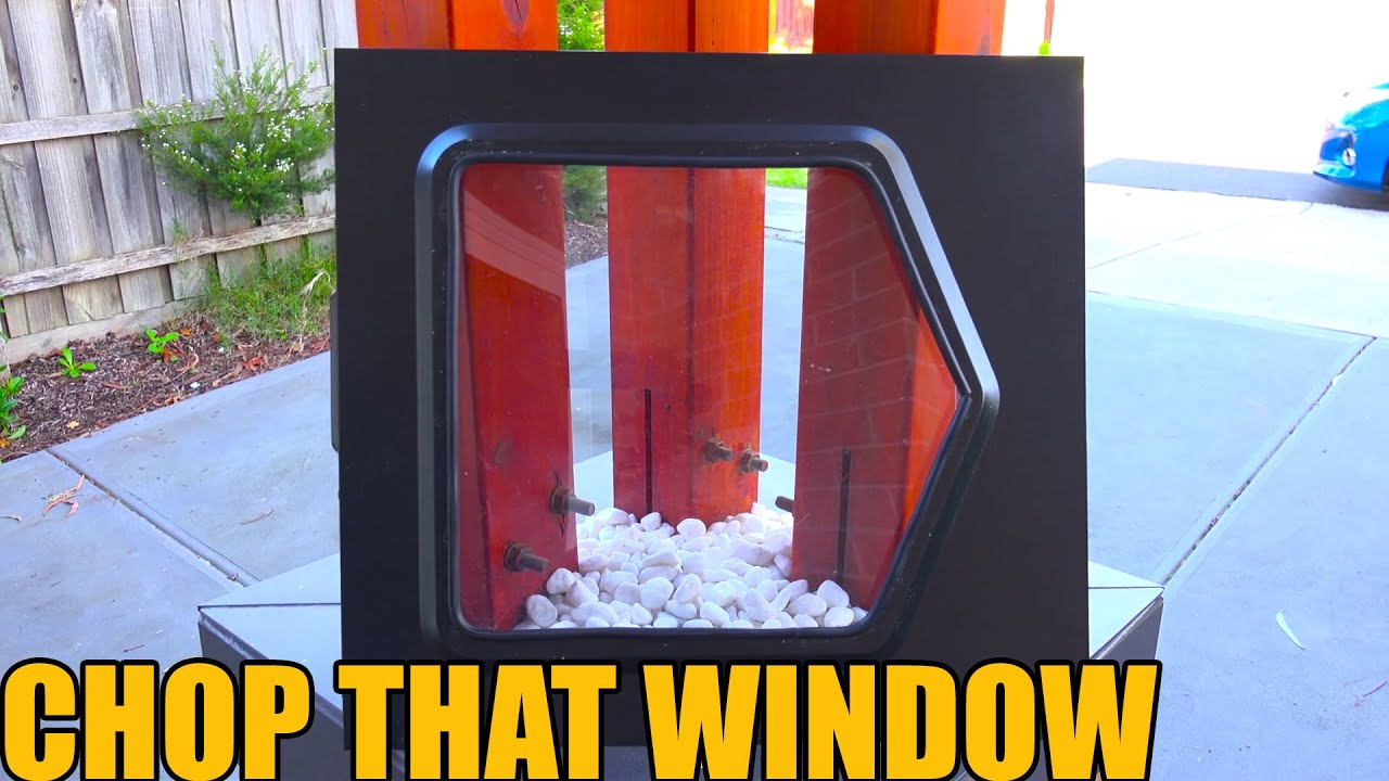 Diy Pc Side Panel Window Youtube