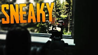The SNEAKIEST camping sṗot on Customs - Escape from Tarkov
