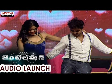 Satya Dance Drop Gusa Gusa Lade Song Live Performance At Gentleman Audio Launch || Nani, Surabhi