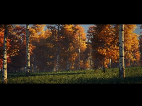 UE4 SpeedTree dynamic day cycle