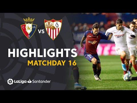 Highlights CA Osasuna vs Sevilla FC (1-1)