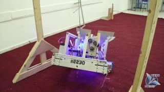 "FRC team 2230 GA ""Bakaraht Metossim"" prototype reveal 2017"
