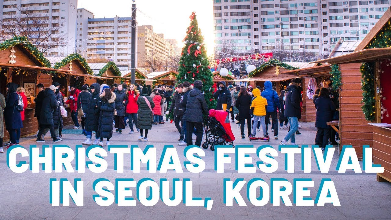 Christmas In Korea.Christmas In Korea Living In Korea Seoul Vlog