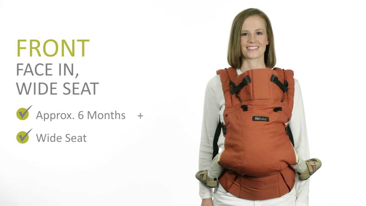 Lillebaby Complete Baby Carrier Wide Seat Facing In Carry Instructions