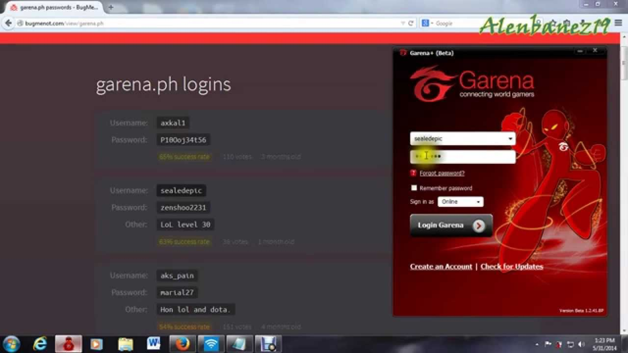 Free Philippine Garena Accounts - YouTube