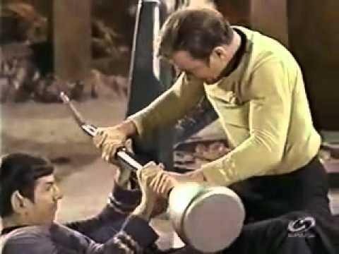 Star Trek Moreau Kirk Spock Fight 50