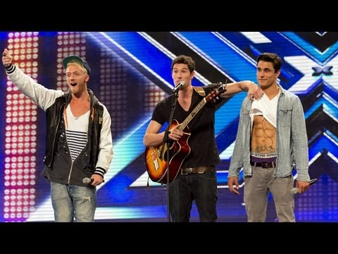 Times Red's audition - Amy Winehouse's Rehab - The X Factor UK 2012