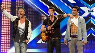 Video Times Red's audition - Amy Winehouse's Rehab - The X Factor UK 2012 download MP3, 3GP, MP4, WEBM, AVI, FLV November 2017