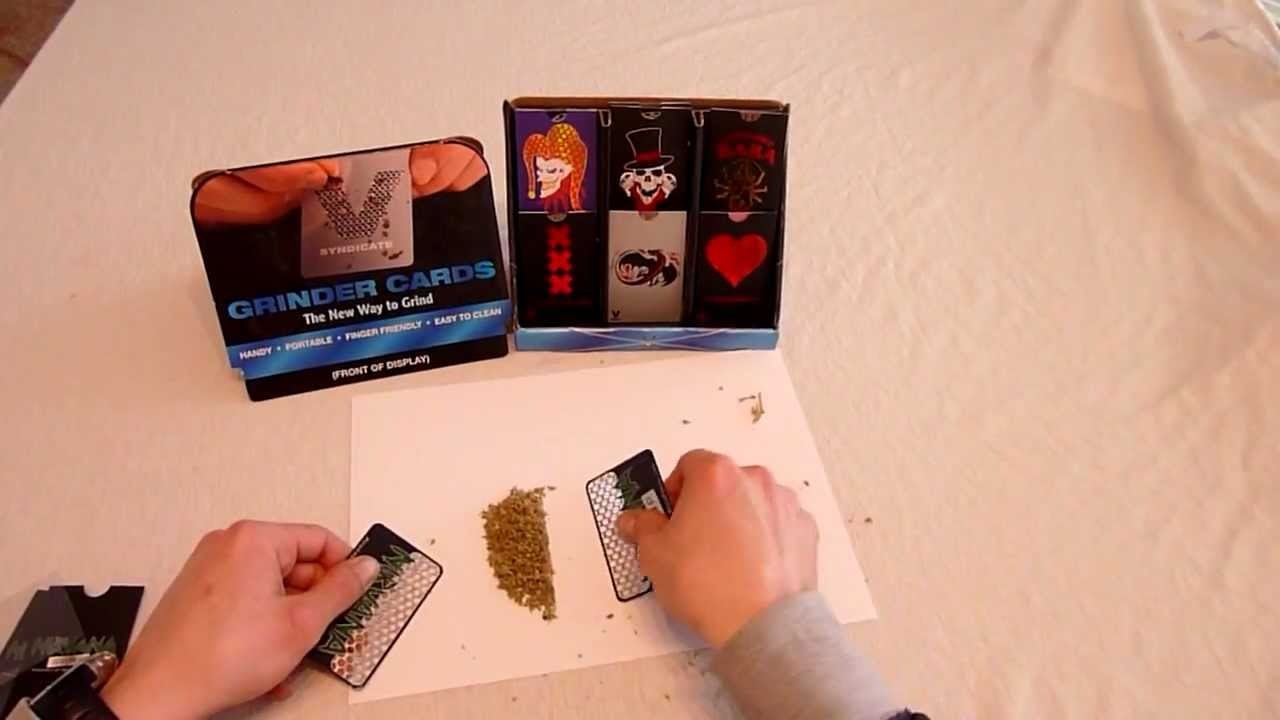 how to make a grinder card