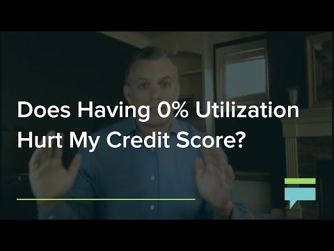 Does Having Credit Utilization Hurt My Credit Score