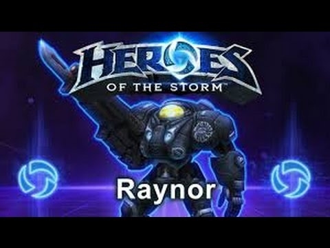 Heroes of the Storm - Lajf GamePlay - Raynor | CZ/SK | 1080p