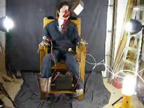 Torture ChairScary Halloween Prop  YouTube