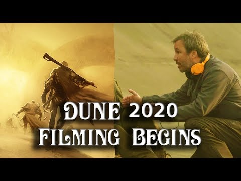 Dune 2020 Filming Begins Today With Amazing Team and Cast