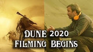 Dune 2020 Filming Begins Today With Amazing Team and Cast thumbnail