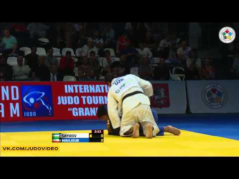 2013 Grand Slam Moscow (-100kg Final) MAHJOUB Javad (IRI) - SAYIDOV Ramziddin (UZB)
