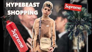 HYPEBEAST SHOPPING IN LA | Christian Lalama