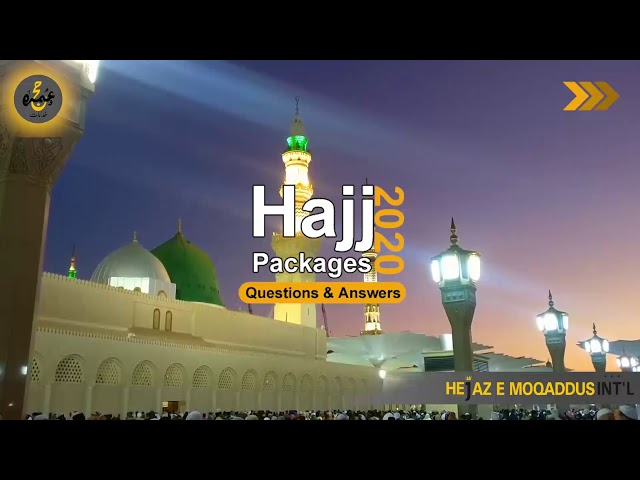 Hajj 2020 Question & Answer