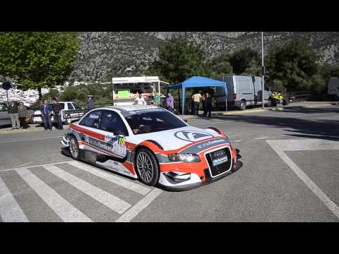 Audi A4 DTM - Subida Ubrique 2014