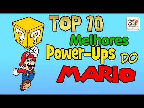 TOP 10 Melhores Power-Ups do Mario