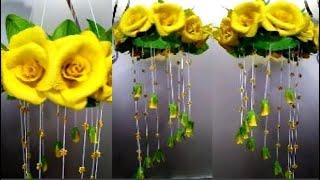 зрелищный декор стен своими руками цветы из бумаги украшение дома идеи день рождения,8 марта,свадьба