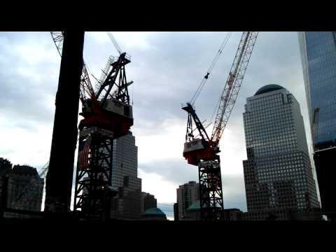 World Trade Centre construction site NYC
