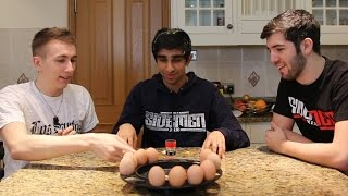 One of Vikkstar123's most viewed videos: SIDEMEN EGG ROULETTE CHALLENGE VIDEO