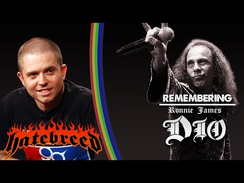 Hatebreed's Jamey Jasta - Remembering Ronnie James Dio