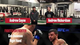 Fighter On Fighter: Cub Swanson's Double Overhand Punch Technique - UFC Fight Night 123