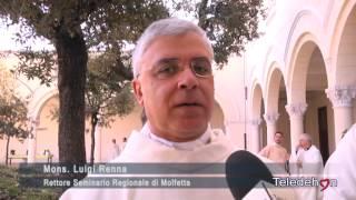 MOLFETTA IERI IL CONFERIMENTO DEL LETTORATO E DELL'ACCOLITATO