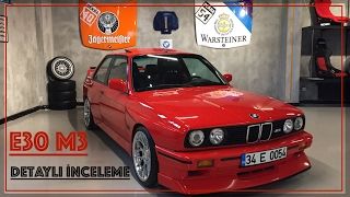 BMW E30 M3 Detaylı İnceleme  (W/Subtitles)