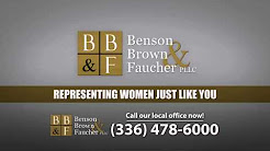 Greensboro Lipitor Lawyers - Benson, Brown & Faucher, Passionately Protecting Women's Rights